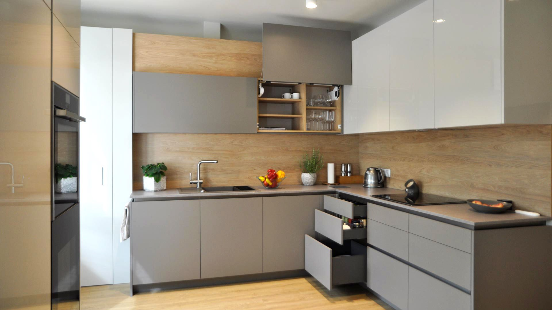 Kitchen Integra By Ripo Harmonic Kitchen Furniture Set Modern