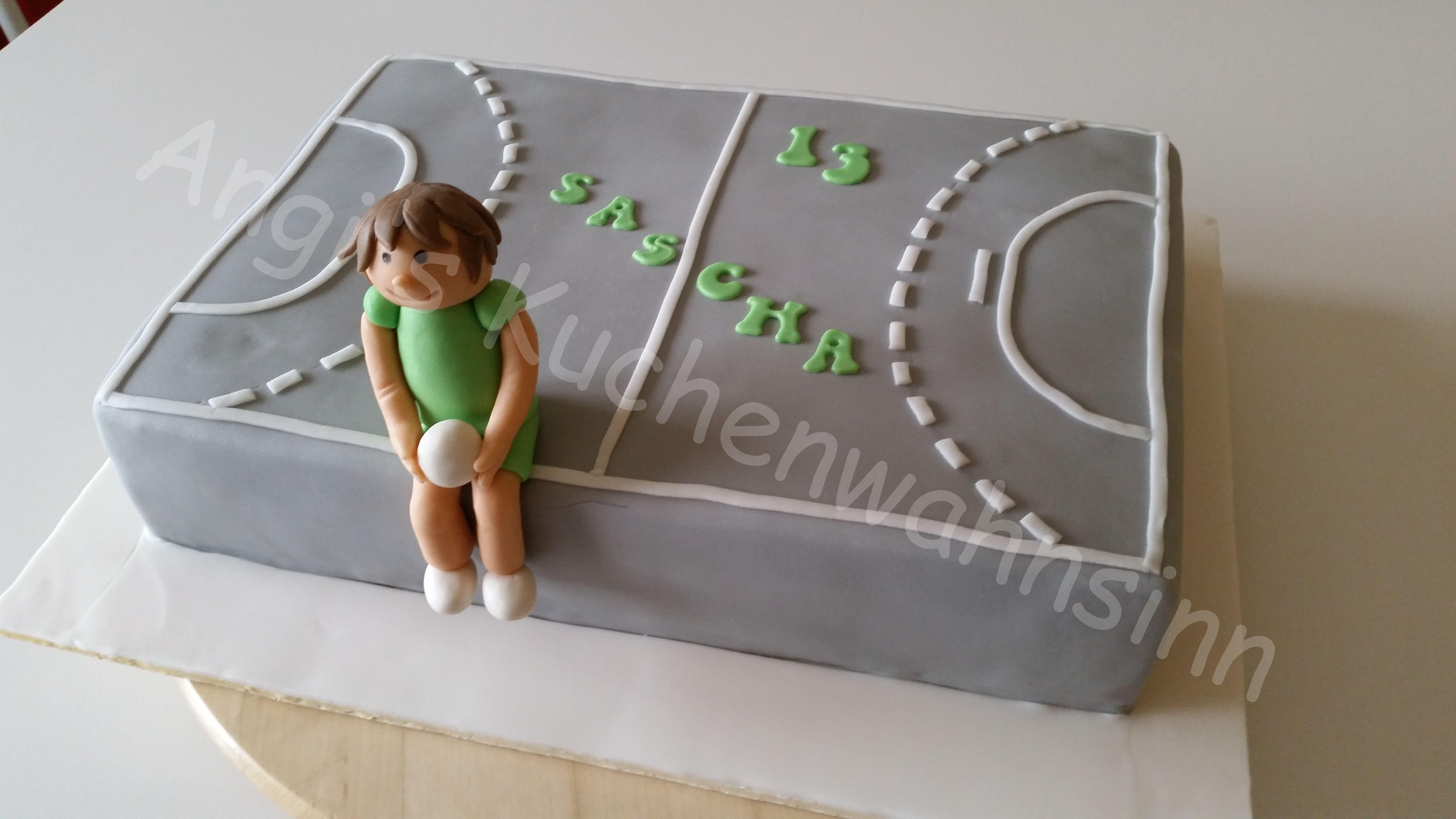 Handball Cake Handball Torte Bakery Pinterest Torte Cake Und