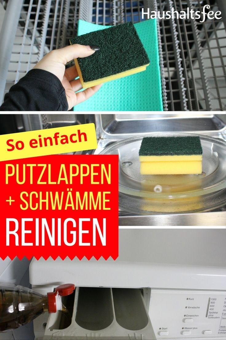 Organisation von küchenschränken putzlappen reinigen einfach erklärt mit hilfreichen tipps  waschen