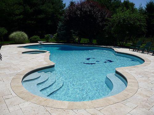 Professional custom inground pool design | Pool designs, Swimming ...