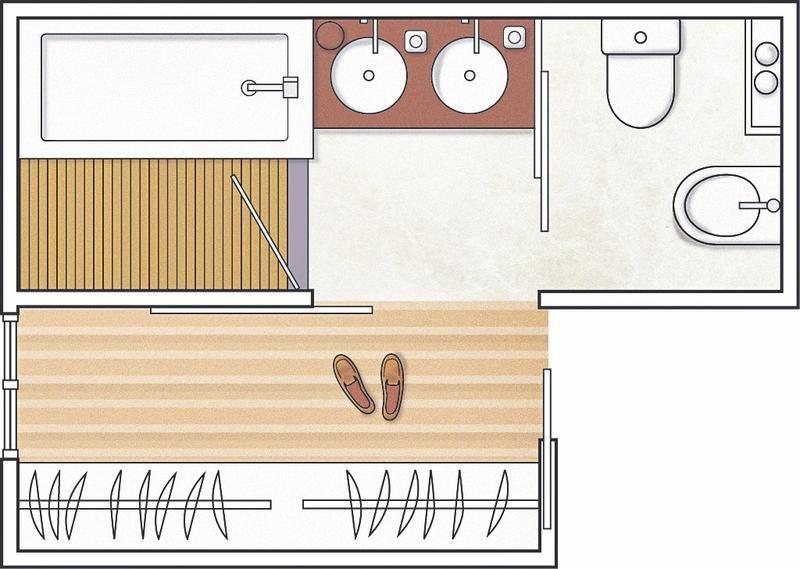 Resultado de imagen para planos de ba os ba os bedroom for Distribucion banos pequenos diseno