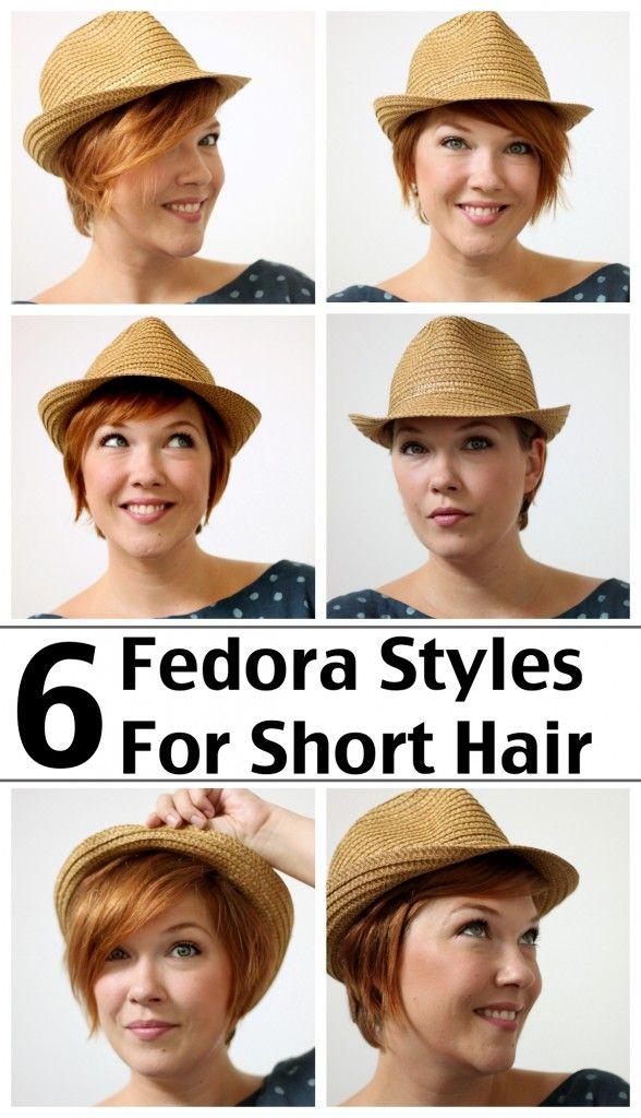 048e035fadc Six Fedora Styles for Short Hair    Alida Makes