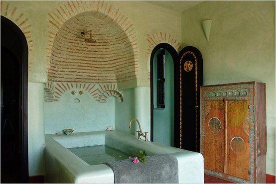 maroccan bathroom