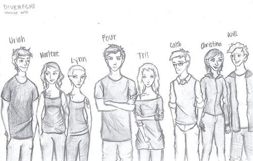 Divergent characters Caleb just looks like a traitor