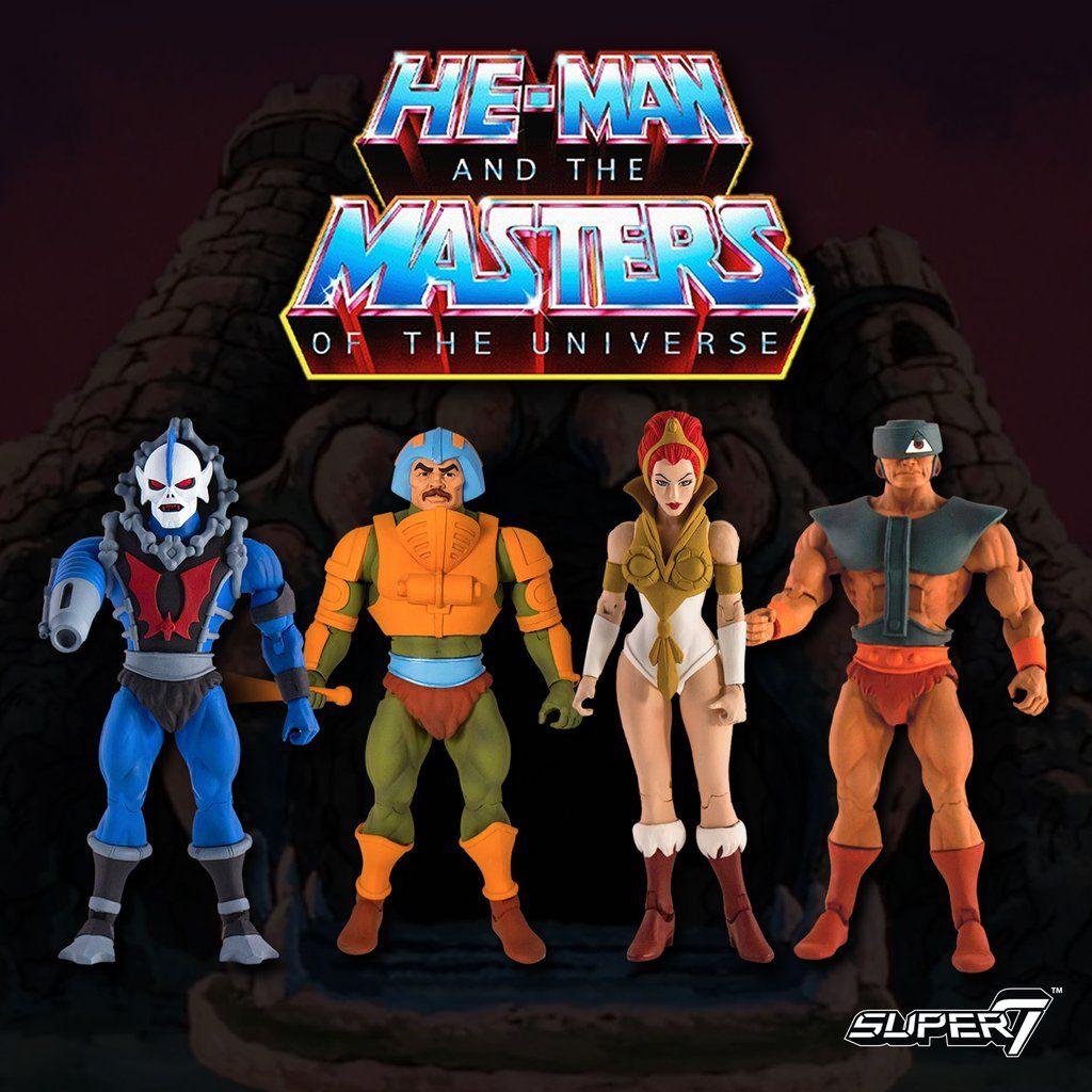 HORDAK SHE-RA Super7 Masters of the Universe MOTU Wave 1 Set  HE-MAN SKELETOR
