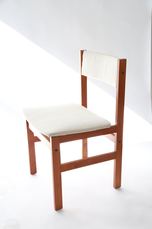 Vintage Mid Century Modern Danish Hf Spottrup Teak Chair By