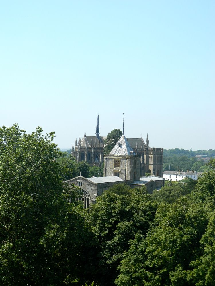 Arundel Cathedral.