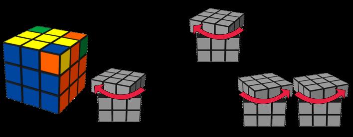 Paso 7: Orientación de los vértices en la capa inferior. Girar 3 vértices.
