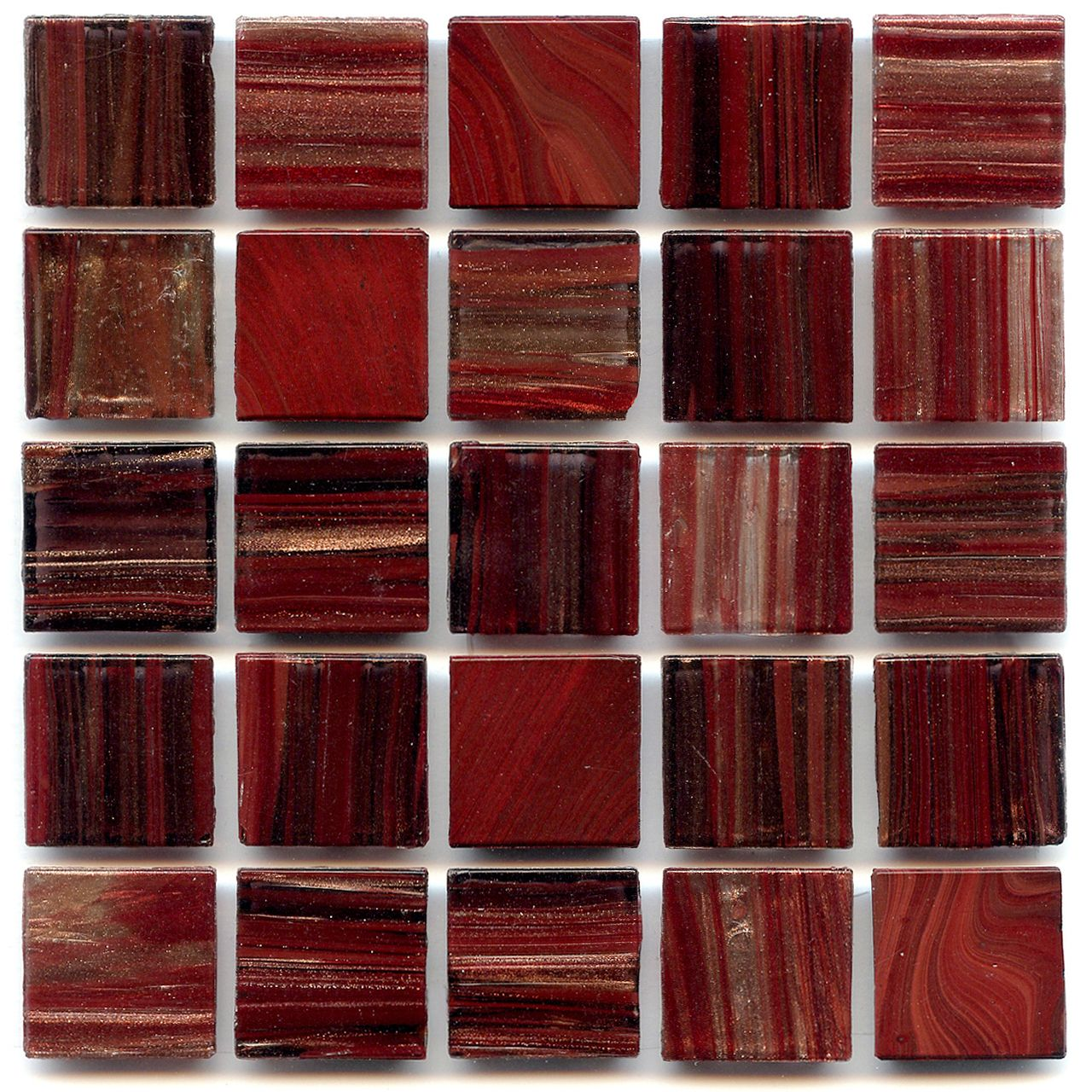 discount glass tile store aventurine egyptian red blend 3 4x3