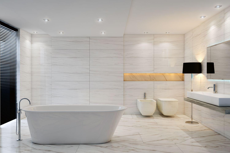 Carrara Veneto Select Bathroom   Carrara Select Porcelain by ...