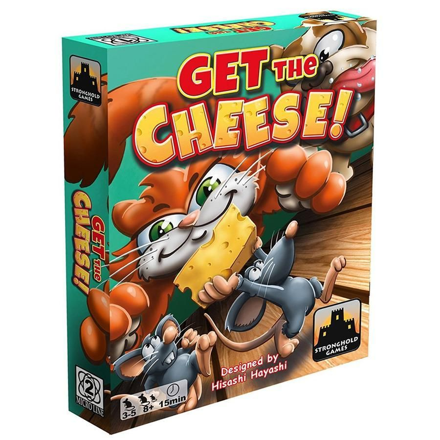 Get The Cheese Card Game Stronghold Games In 2020 Card Games Board Game Online Retro Game Systems