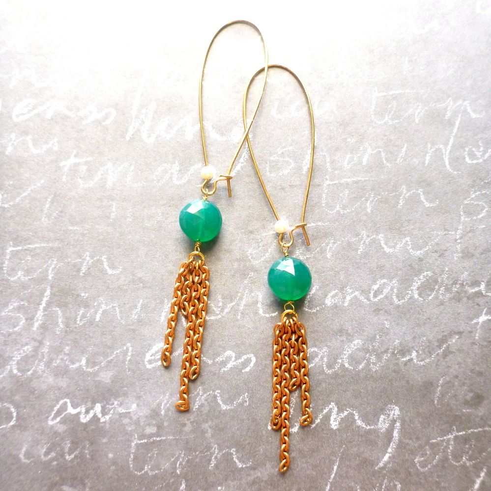 My Pick of the Day! Want to try the long tassel earring look, but not sure if your ears can handle it? These are perfect for you! Get them 30% off today only with the discount code MYPICK at checkout!