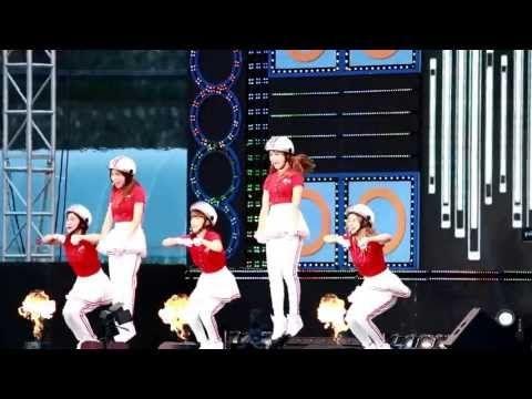 130621 국군방송 위문열차 [크레용팝-빠빠빠] 신곡 첫방(?)
