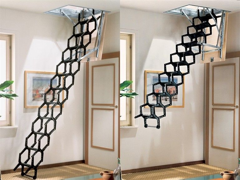 Fabuleux Escalier escamotable ADJ - RINTAL | Comble(s) | Pinterest  MB49