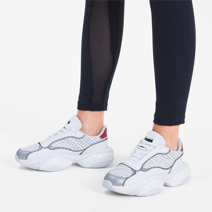 PUMA x Karl Lagerfeld Alteration Trainers in White size 105 PUMA x Karl Lagerfeld Alteration Trainers in White size 105