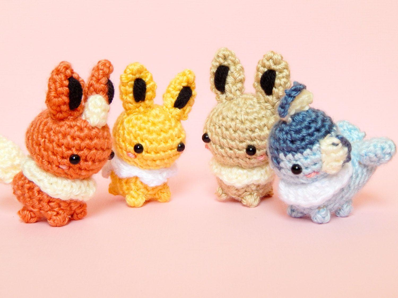 Pokémon mini crochet patterns | Crochet pokemon, Pokemon crochet ... | 1125x1500