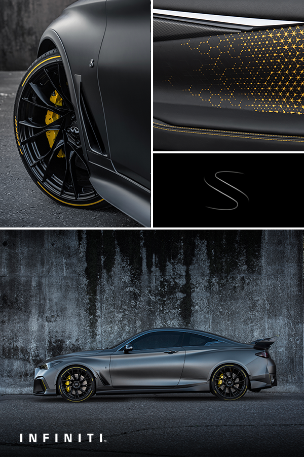 Infiniti Has Always Wondered What It Would Look Like If F1 Racing Technology Was Designed For The Road Well Now We Know Infiniti Concept Cars Aerodynamics
