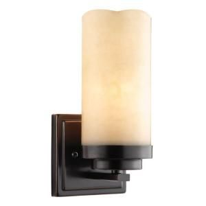 Null Cordova Collection Light Bronze Sconce Wall Sconces - Bedroom wall lamps home depot