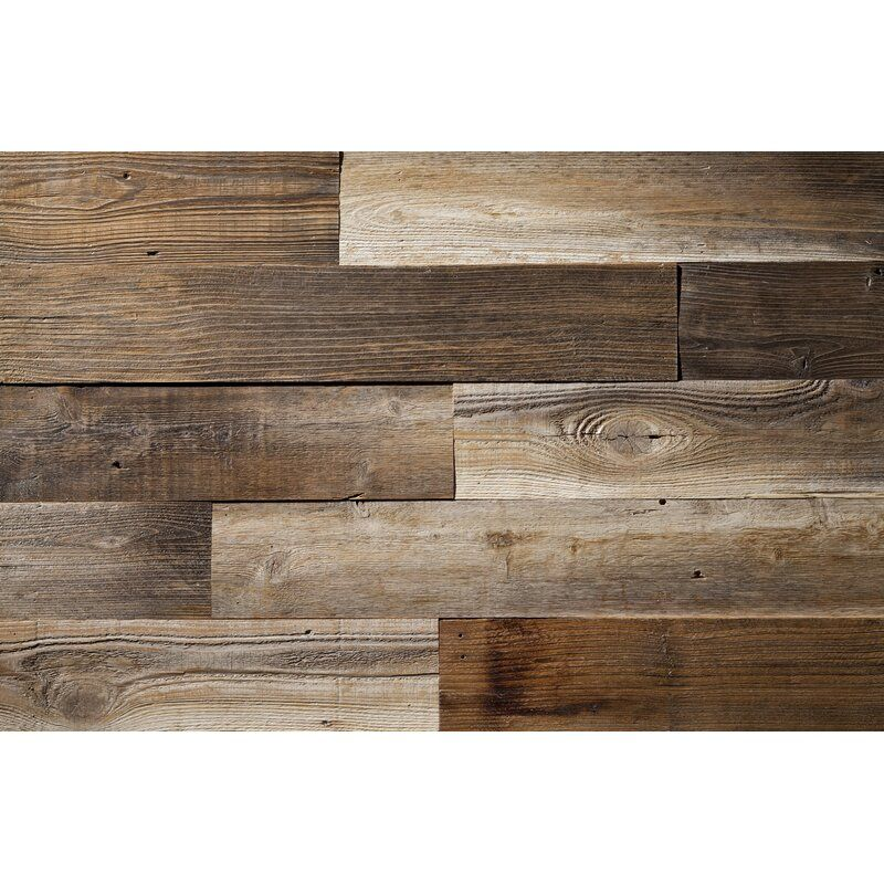 52 X 4 87 Reclaimed Solid Wood Wall Paneling Wood Panel Walls