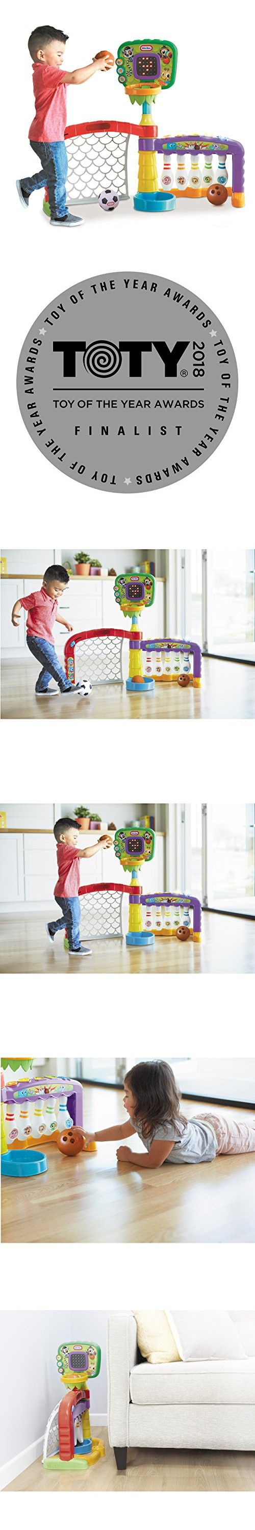 Little Tikes 3in1 Sports Zone Baby Toy, Infant Toy