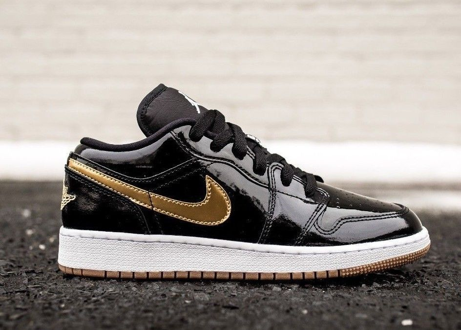 eBay #Sponsored Nike Air Jordan Retro 1 Low GG Black