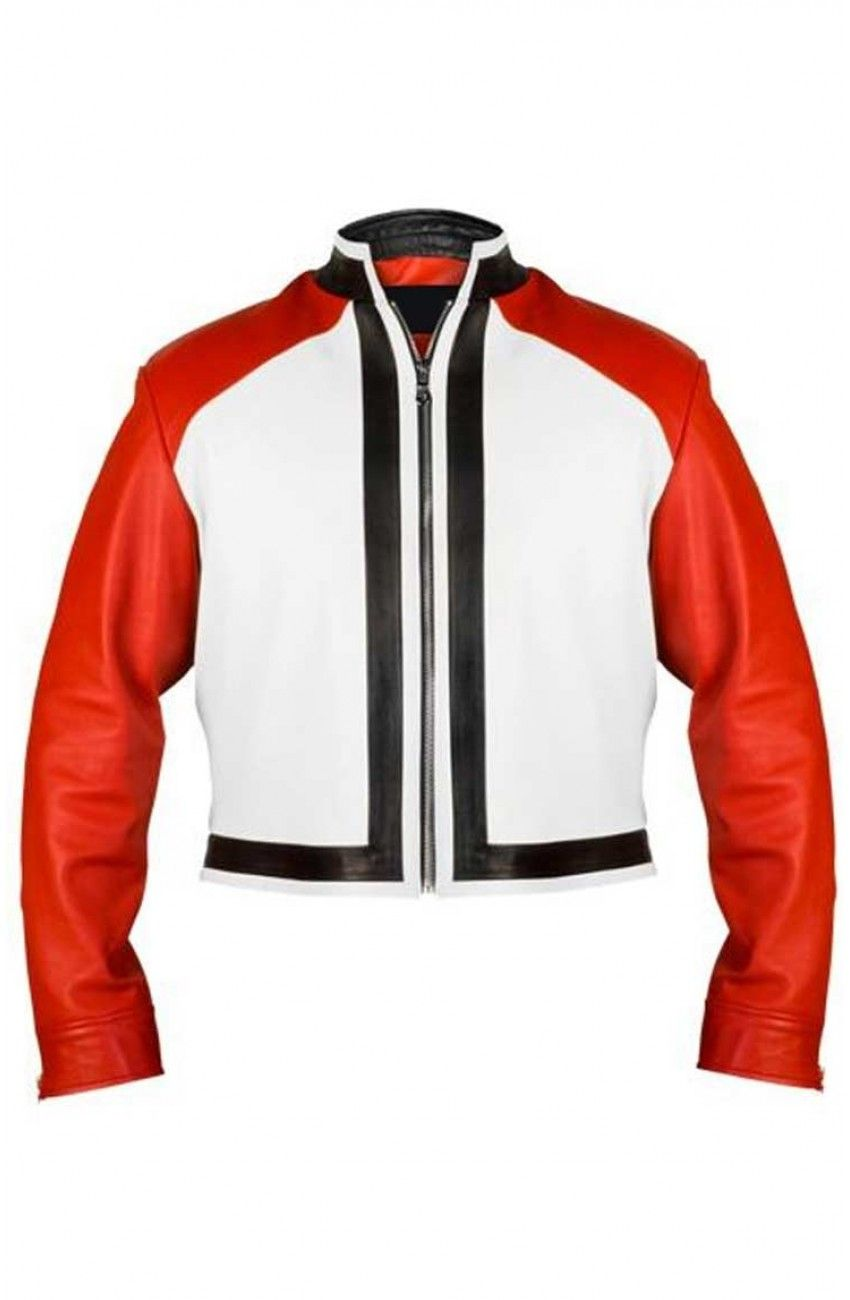 The King Of Fighters Xiv Rock Howard Jacket Movies Jacket Moda Masculina Moda Trajes [ 1300 x 850 Pixel ]
