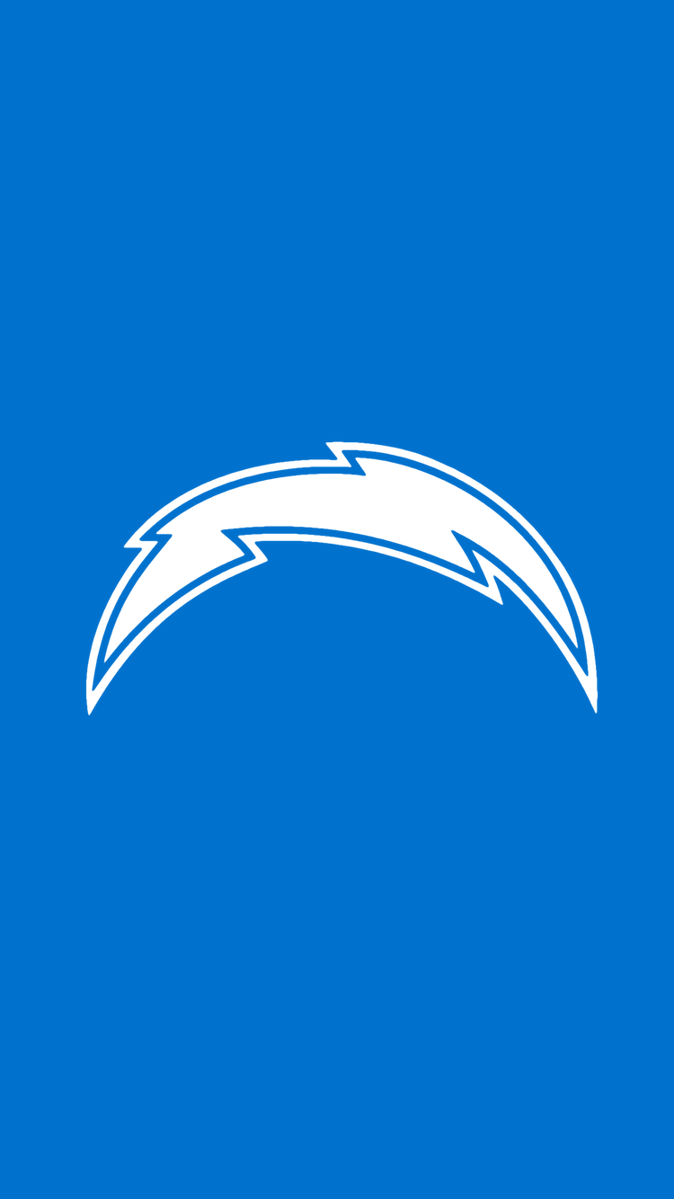 Minimalistic Nfl Backgrounds Afc West Chargers Nfl Nfl