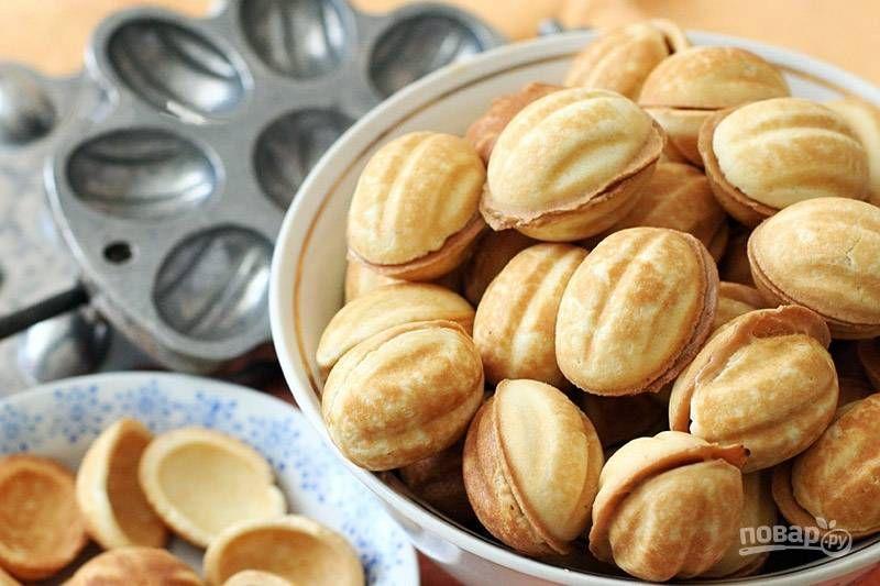 Печенье Орешки со сгущенкой, старый рецепт