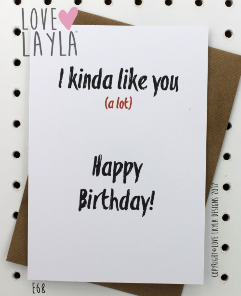 ... #onthedownlow #happybirthday #birthday #lovelaylaaustralia #greetingcards #funnycards #funny #stayathomemum To buy this card, search E68 via our website