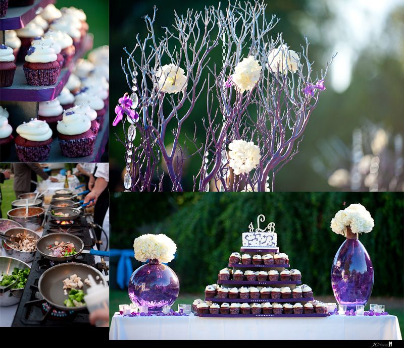Purple Wedding Ideas With Pretty Details: Beautifully Styled And Awesome Ideas For A Purple + White