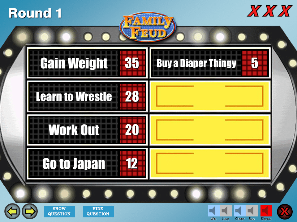 Make Your Own Family Feud Game With These Free Templates