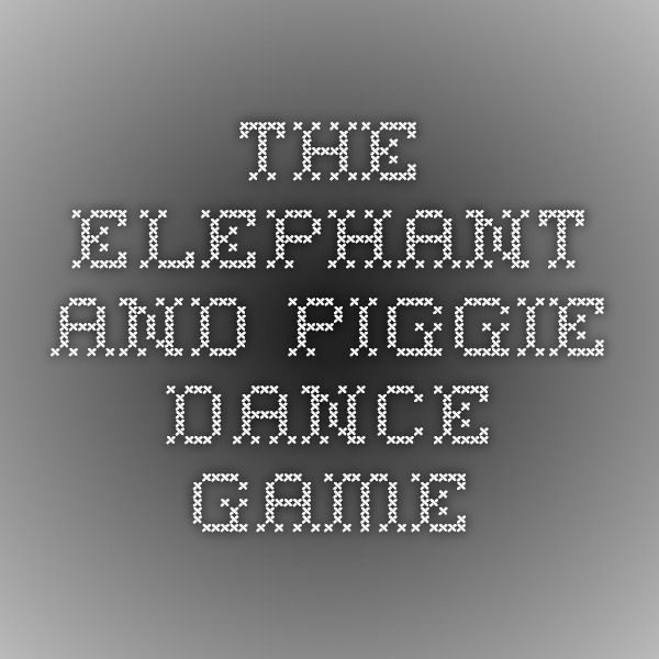 The Elephant and Piggie Dance Game | Morning Meeting Games