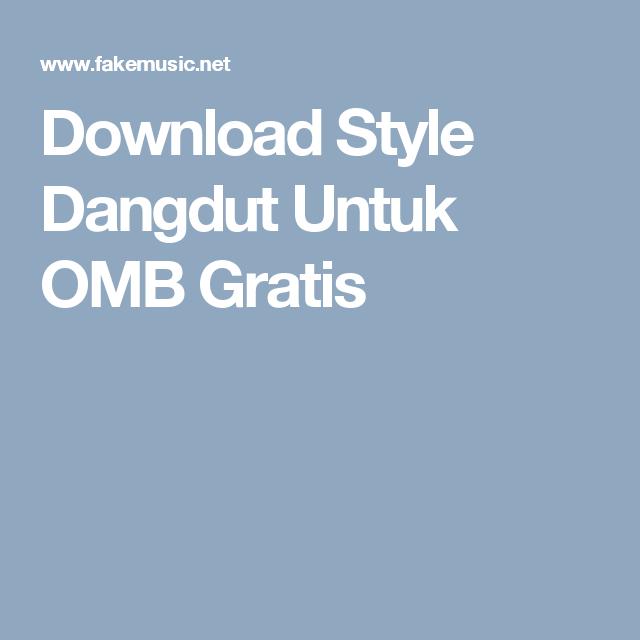download style dangdut korg i one 2017
