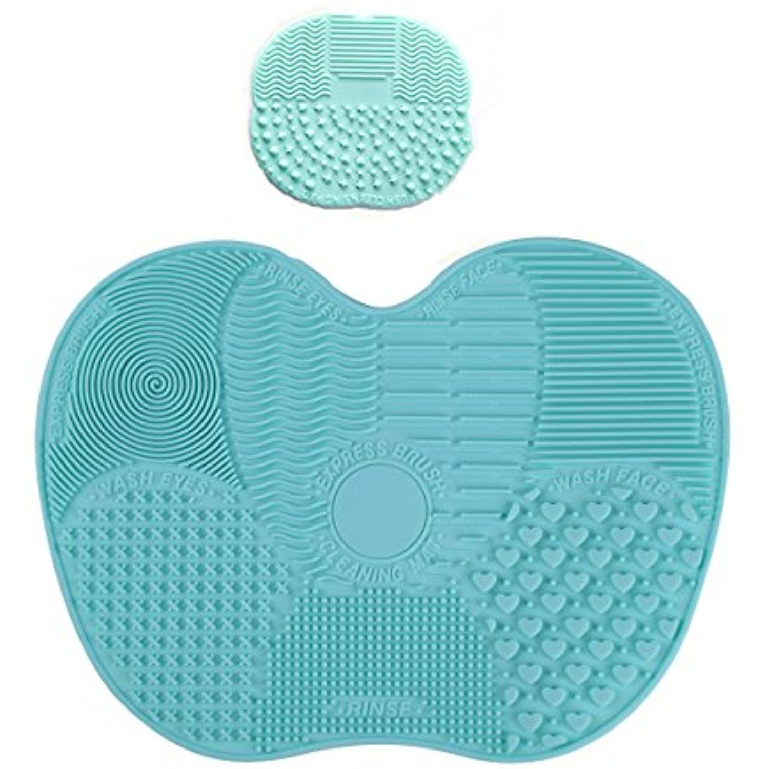 Makeup Brush Cleaning Mat,AuroTrends Best Silicone Makeup