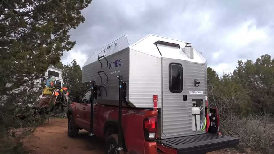 Kimbo camper converts pickup truck to goanywhere rv