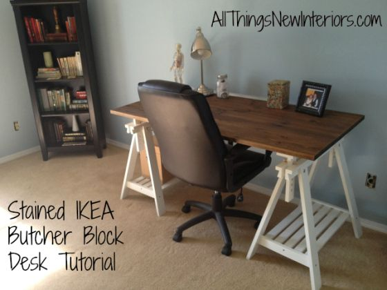 How to make a trestle desk from Ikea for under 150  Furniture