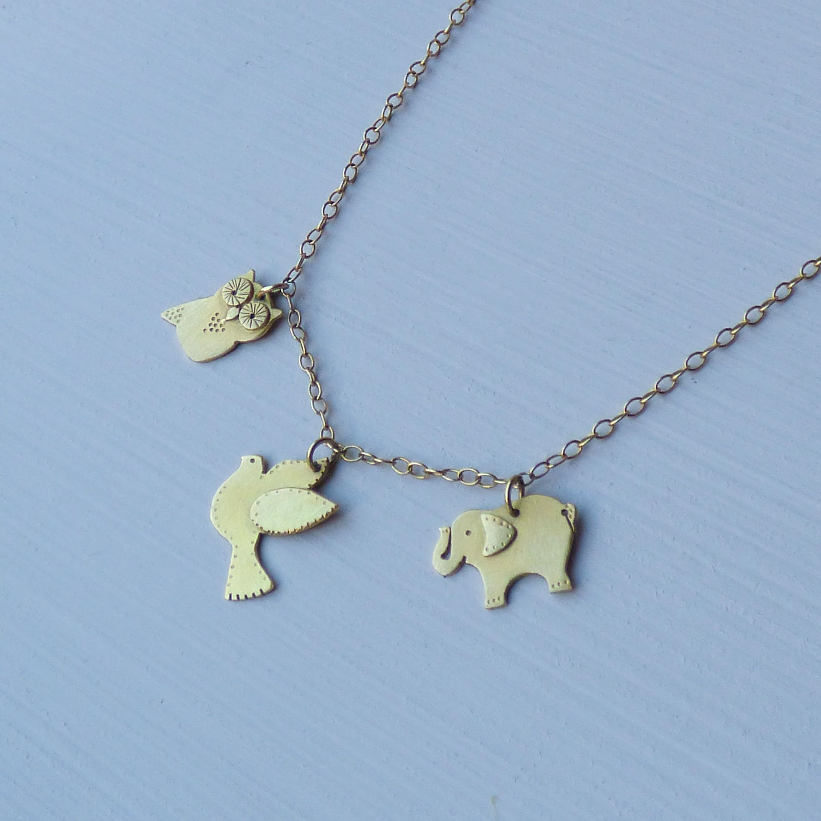 Take a look at these adorable handmade Animal Amulets by Shakti