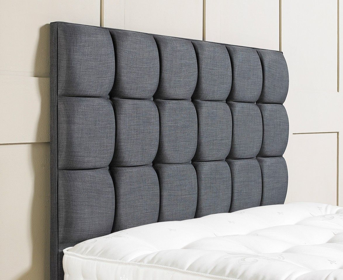cubes floor standing upholstered headboard - Headbored
