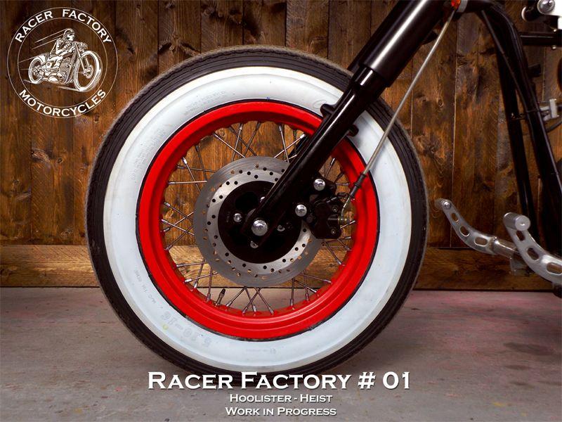 roue avant 16 pneu classic flanc blanc hoolister ccw heist rf 01 pinterest pneu. Black Bedroom Furniture Sets. Home Design Ideas