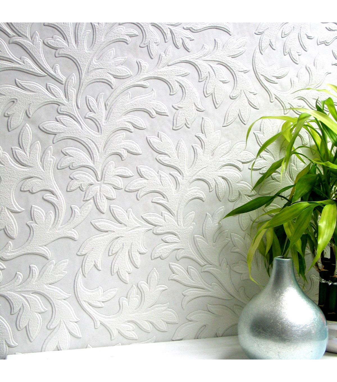 High Leaf Paintable Textured Vinyl Wallpaper Sample Joann Paintable Textured Wallpaper Anaglypta Wallpaper Paintable Wallpaper