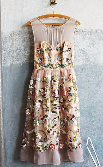 Novelette Dress #anthrofave