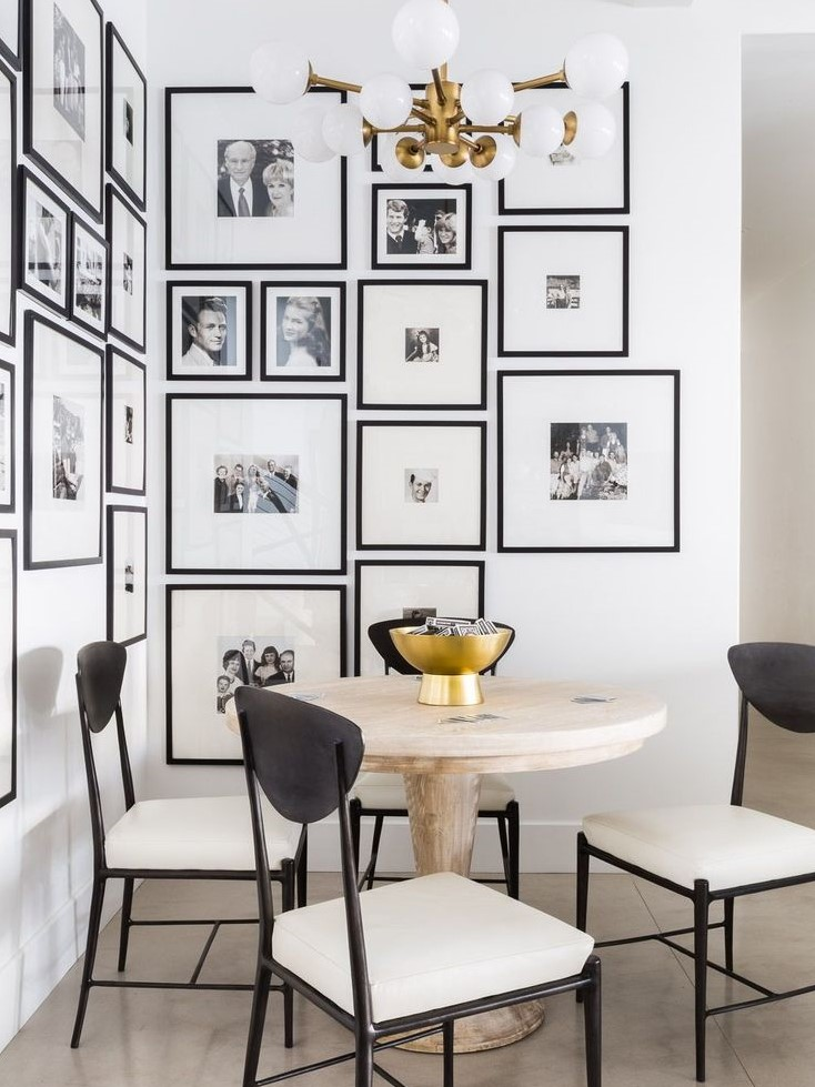 Pinterest Wall Of Photos Google Search Dining Room Small Dining Room Walls Dining Room Design