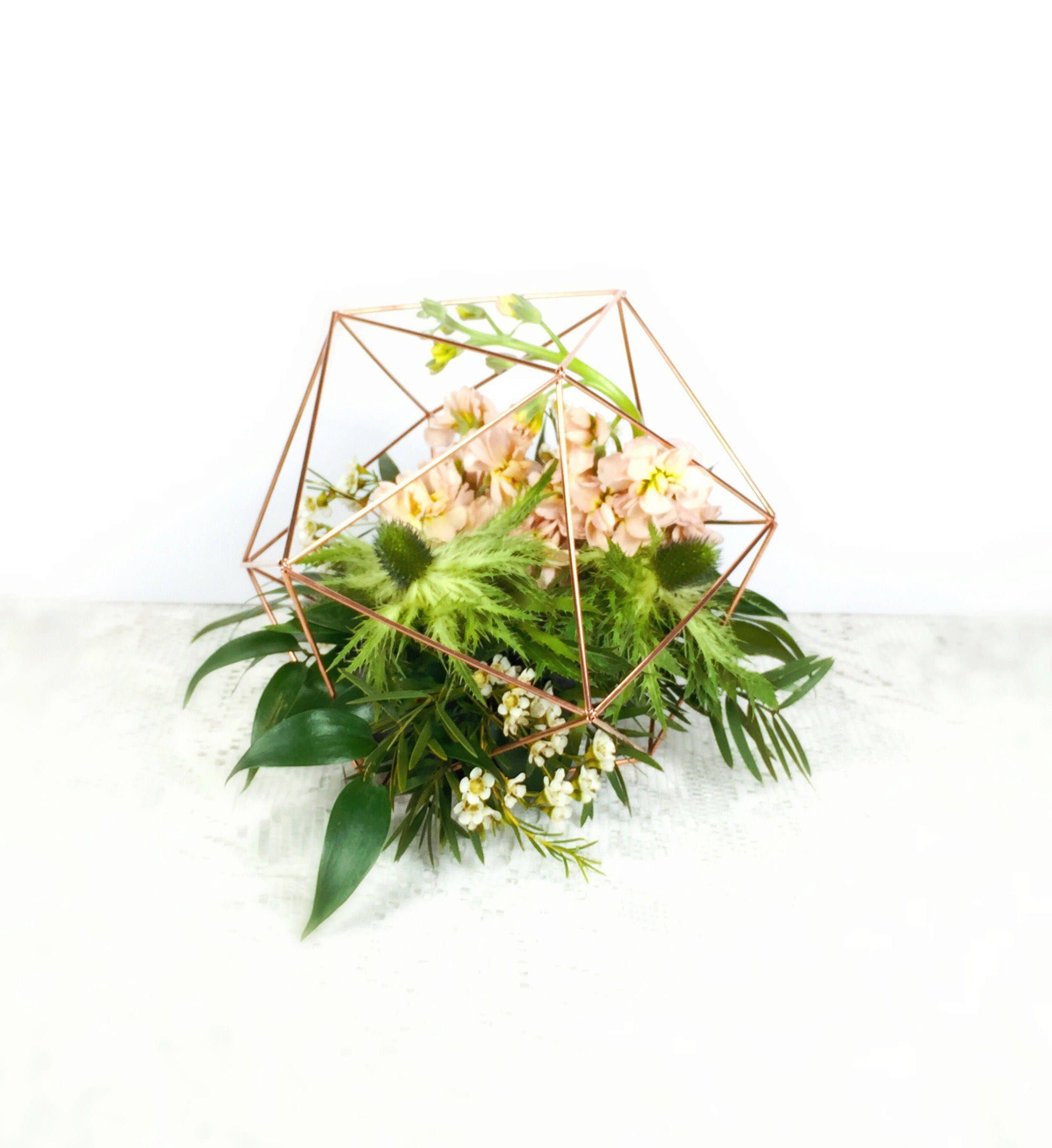 Wedding Centerpieces Copper 6 SPHERE modern stylish | 2017 Wedding ...