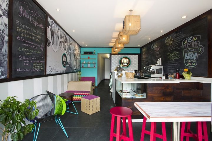 Viva Café By Esny Martin San José Costa Rica Retail Design Blog Restaurante Vintage Restaurantes Ideas Cafe