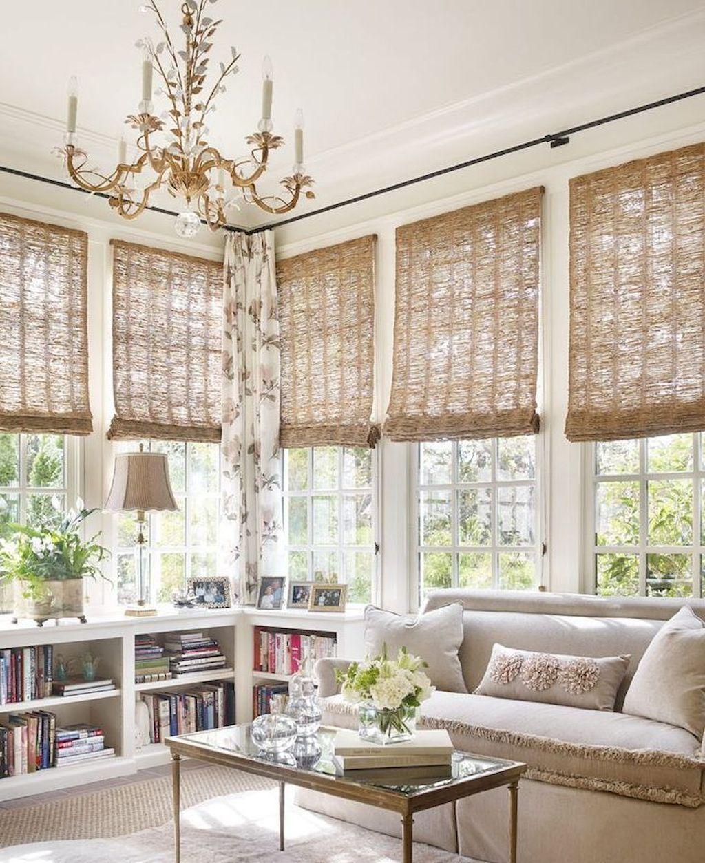 Cozy Modern Farmhouse Sunroom Designs 26