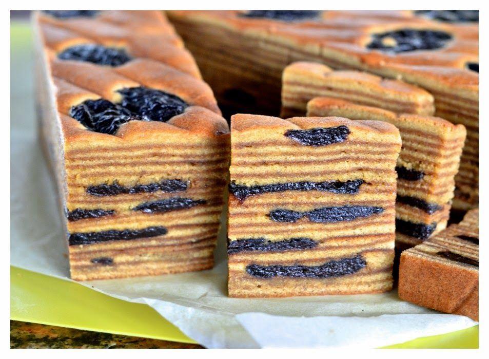 Lapis Legit Prune Kue Spekkoek Decadent Layered Cake With Prune Makanan Manis Kue Lapis Kue Lezat