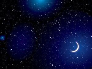 Stars On Dark Blue E Backgrounds