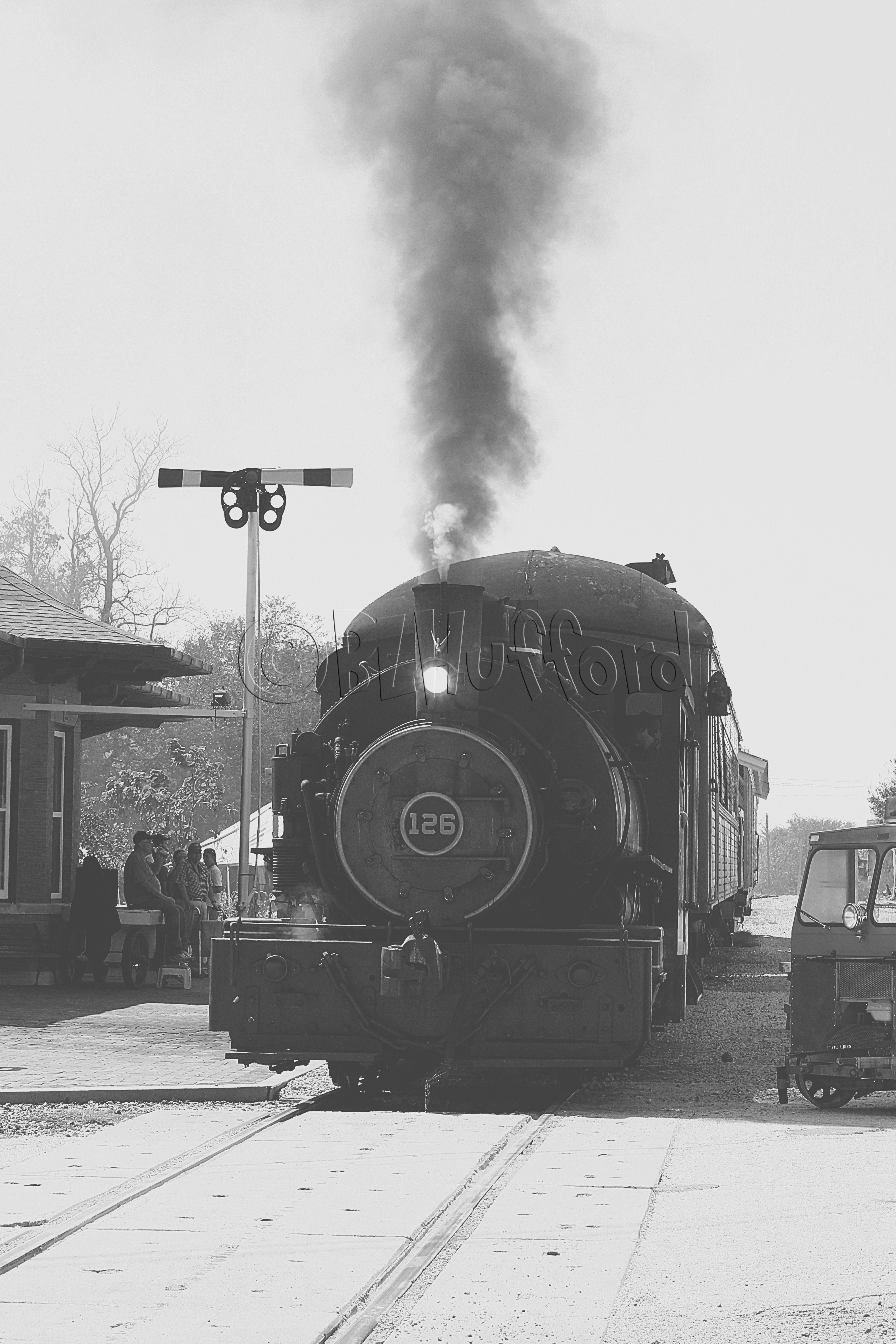249/366 Train Kept a Rollin Copyright Billie Hufford 2012. More photos, photography tips, etc...   https://www.facebook.com/pages/Billies-Photos/124893917625895