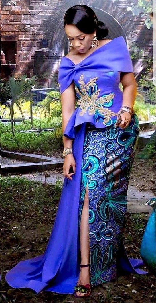 Epingle Par Nina Mbem Sur Robes Mode Africaine Robe Robe Africaine Mariage Robe Africaine Tendance