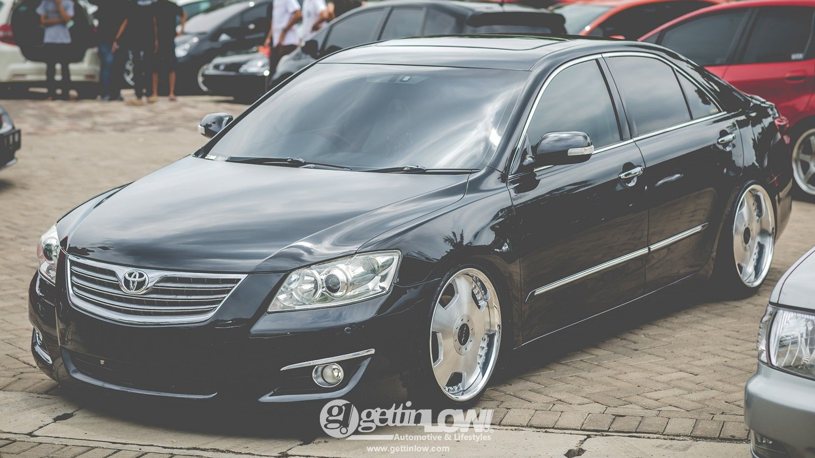 Toyota Camry On Marchfest 2017 More Photos Http Www Gettinlow Com Event Coverage Marchfest 2017 Axc Summarec Toyota Camry Aksesoris Mobil Modifikasi Mobil